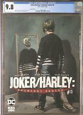 Joker/Harley: Criminal Sanity #2 Mayhew Variant Cover DC Black Label CGC 9.8