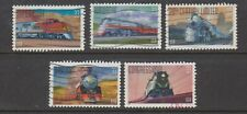 Famous Trains, Complete Set  USA Scott 3333-7, Used Off Paper ,