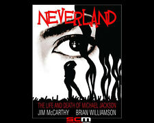 MICHAEL JACKSON NEVERLAND graphic book of the life and death of the king of pop