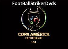 2016 Copa America Centenario Semi-finals Colombia vs Chile DVD