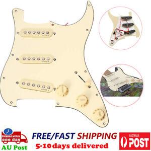 Prewired Loaded SSS Guitar Pickguard Alnico V Pickups For ST Strat Guitar