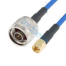 Sma Macho Para N Macho Plug RG402 RG-402 Cabo Coaxial Flexível Semi Kable 50ohm Lote