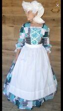 Historical Pioneer Dress Costume Girls Size 10/12