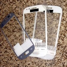 Real Tempered Clear Glass Screen Protector For Samsung Galaxy S3 Mini WHITE