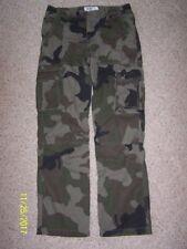 Big Boys Urban Pipeline Cargo camouflage Pants  Size 18 100% Cotton ADJ WAIST