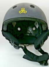 Triple Eight Nyc Black Snowboard Helmet Built-In Audio System Size S/M Excellent