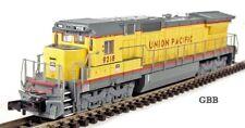 N Scale UNION PACIFIC GE DASH 8-40C DCC Compatible Bachmann Spectrum Loco 85053