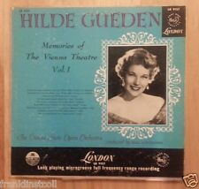 Hilde Gueden on London LD 9157 - Memories of the Vienna Theatre Vol. 1