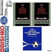 Oem Shop Manual Cd Ford Truck Aerostar/Explorer/Ranger w/ 1996 Supplement 1995 (Fits: Ford Aerostar)