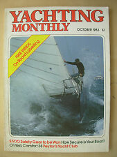 YACHTING MONTHLY MAGAZINE OCTOBER 1983 No 926