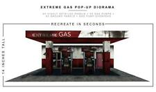 """Extreme Sets """"Gas Station"""" Pop-Up DIorama Display 1/12 Scale Action Figures"""