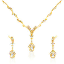 Oviya Night Beauty Necklace Set With Crystals For Women NL2103076G