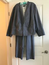 Talbots  Pant Suit Size 24 W NWT