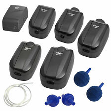 Hidom Quiet Aquarium Air Pump Fish Tank Single/Twin Outlet Valve And Accessories
