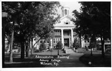 RPPC Administration Building ASBURY COLLEGE Wilmore, KY 1939 Vintage Postcard