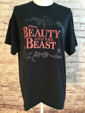 Disney Beauty and the Beast Broadway Musical Fox Theatre Atlanta T-shirt Size L