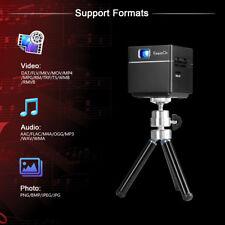 """S6 Mini Pocket Projector 100"""" Display Cube DLP 1080P HD Wireless WIFI 2500mAH EU"""