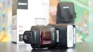 Sony HVL-F60M Flash with Built-In 1200 LUX LED Light   Used Only Once