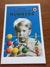 Ladybird Book Themed Postcard - Numbers - NEW