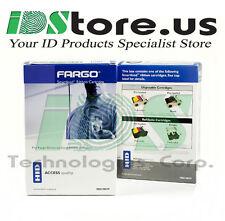 Fargo 45130 Metallic Gold Monochrome Resin Ribbon - 500 prints (Replaces 45107)