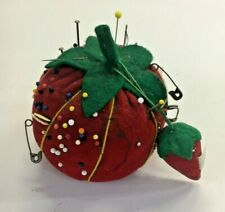 CHENGYIDA 6 PACK Strawberry Pin Cushion for Sewing
