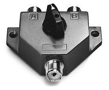 Albrecht CX 201 Pl, 2 fach Antennenschalter aus Guß, CB-Funk, Amateur, Neu+OVP