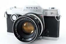 [Excellent+++] Konica Autorex P Half & Full frame Camera w/52mm f/1.8 from Japan