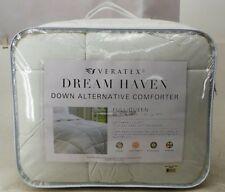 Veratex Dream Haven Down Alternative Comforter Full/Queen White -New-