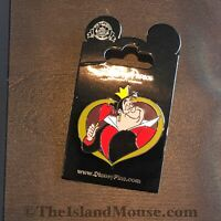 Disney Villains In Frames Alice in Wonderland Queen of Hearts Pin (NS:107915)