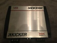 Kicker Kx800.1 Car Audio Amplifier Mono Class D Amp Kx Series