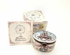 Boyds Bears Beatrice Le Bearmoge The Night Before Christmas Porcelain Hinged Box