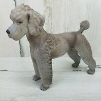 Vtg 1968 Goebel West Germany Gray French Poodle Figurine 6.75 Inches Tall