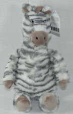 "Jellycat 12"" SWEETIE ZEBRA Bean Filled STUFFED PLUSH ANIMAL Soft Toy NEW NWT"