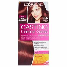 L'OREAL CASTING CREME GLOSS NO AMMONIACA BERRY RED 565