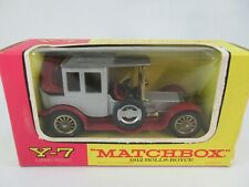 Matchbox Lesney Yesteryear Y7 Rolls Royce