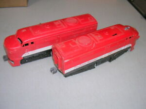 """Lionel No. 211 Texas Special Alco """"A-A"""" Diesel Locomotive, Red/White, Untested"""