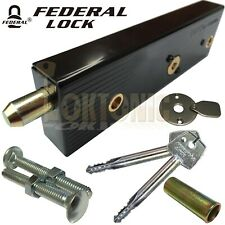 Federal Enfield Garage Door Locks Bolts R/H Or L/H Singles High Security MK5