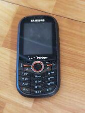 Samsung Intensity Verizon Cell Phone 1.3 Mp Slider Qwerty Sch-U450 Black