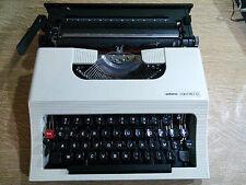 Vintage Macchina da Scrivere ANTARES COMPACT 22 con custodia rigida anni 70 OLD
