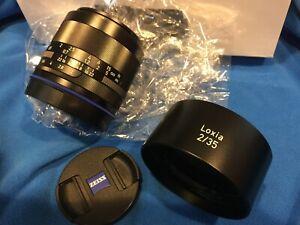 Zeiss Loxia 35mm F2.0 Biogon T* (for SONY E mount)