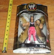 2004 WWF WWE Jakks Bret Hitman Hart Classic Wrestling Figure Series 1 WCW