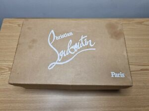 Christian Louboutin Shoe Box 100% Genuine 📦 28.5cm X 18.5cm. Well Used Box Only