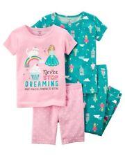 Carter s Never Stop Dreaming 2 Toddler Girls Pajama Sets Sz 2t 54ca9e8f8