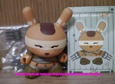 """Kidrobot 3""""Dunny Post Apocalypse Huck Gee Feral Chick Claws 3/32 Vinyl"""