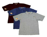 Skechers Work Polo Shirt Mens Durable Industrial Pocket Collar T-Shirt SW-14510