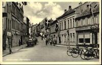Aabenraa Åbenrå Apenrade ~1960 Strasse Geschäfte Personen Fahrräder Autos AK