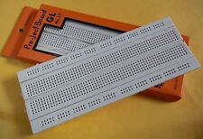 840 POINTS SOLDERLESS PCB BREAD BOARD - CIRCUIT TEST BOARD - PROJECT BREADBOARD