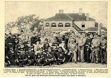 Feier zum 50 Geburtstag des Kaisers von Japan in Schanghai * Bilddokument v.1903