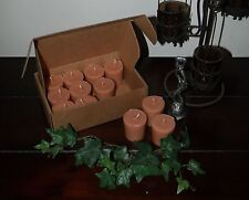"Soy Votive Candles 12 Pk. Box Aromatherapy Scents ""A-G"" Seasons of the Earth"
