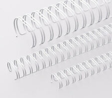 100 6mm 3:1 White Binding Wires for Wire Binder Machines